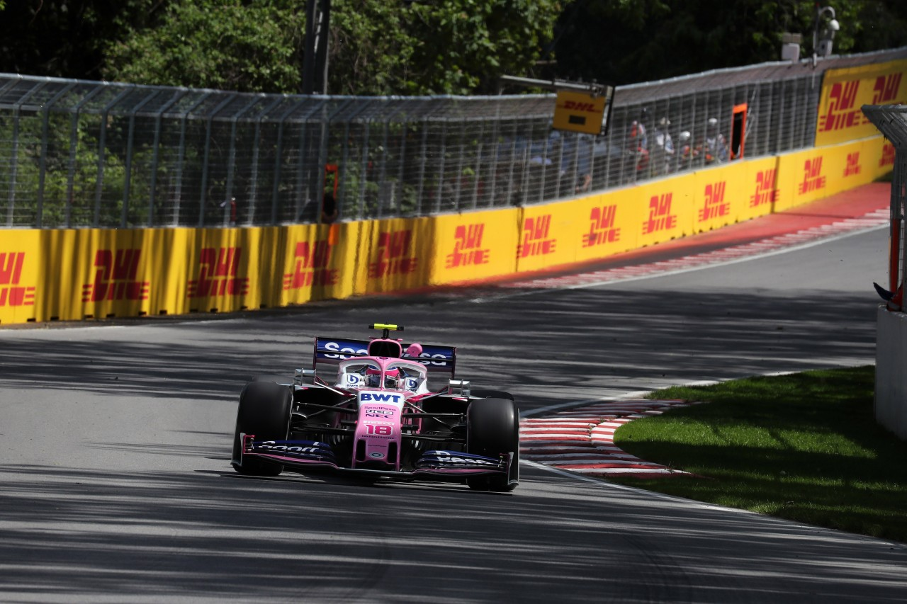 GP CANADA, 07.06.2019 - Prove Libere 2, Lance Stroll (CDN) Racing Point F1 Team RP19