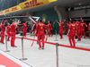 GP CINA, 14.04.2019- Ferrari Mechanics doing fitness activity  before the race