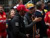 GP CINA, 14.04.2019- driver parade, Lewis Hamilton (GBR) Mercedes AMG F1 W10 EQ Power e Carlos Sainz Jr (ESP) Mclaren F1 Team MCL34