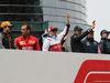 GP CINA, 14.04.2019- driver parade, Carlos Sainz Jr (ESP) Mclaren F1 Team MCL34, Kimi Raikkonen (FIN) Alfa Romeo Racing C38