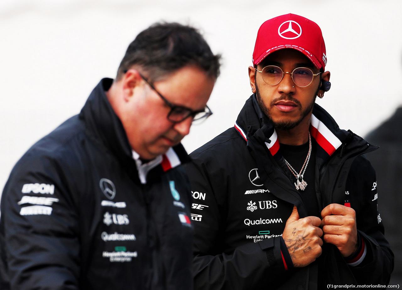 GP CINA, 12.04.2019- Lewis Hamilton (GBR) Mercedes AMG F1 W10 EQ Power