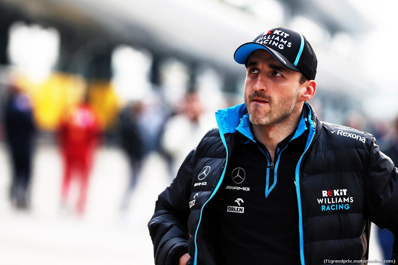 GP CINA, 12.04.2019- Robert Kubica (POL) Williams F1 FW42