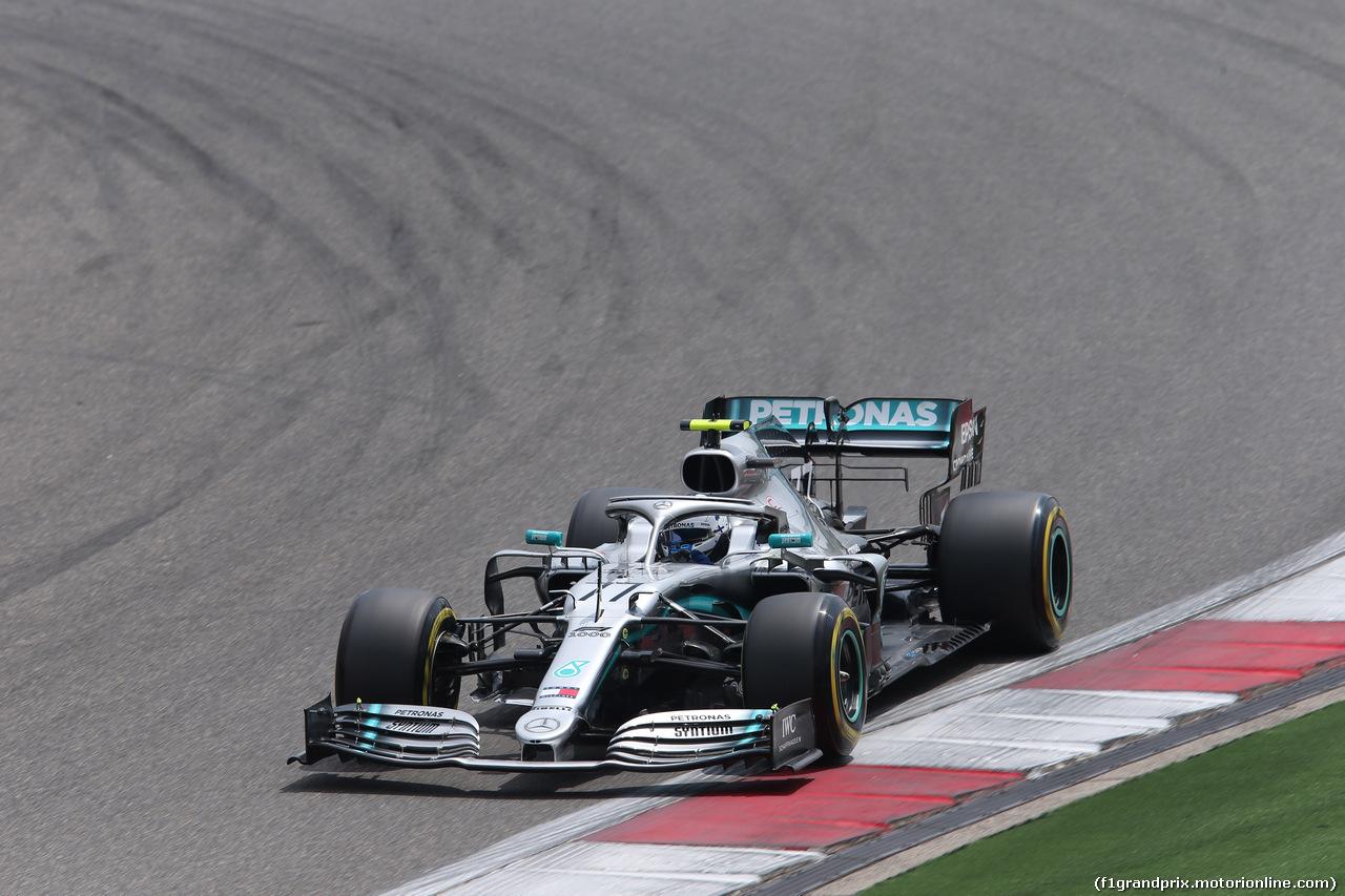 GP CINA, 13.04.2019- Free practice 3, Valtteri Bottas (FIN) Mercedes AMG F1 W10 EQ Power