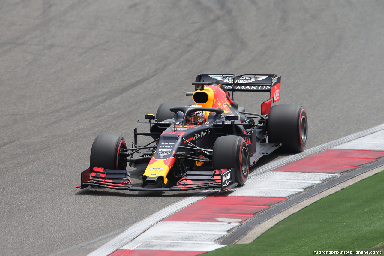 GP CINA, 13.04.2019- Free practice 3, Max Verstappen (NED) Red Bull Racing RB15