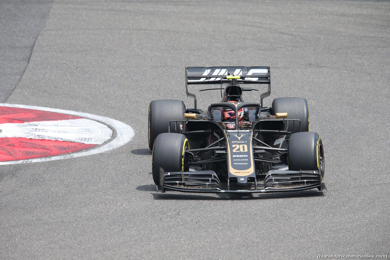 GP CINA, 13.04.2019- Free practice 3, Kevin Magnussen (DEN) Haas F1 Team VF-19