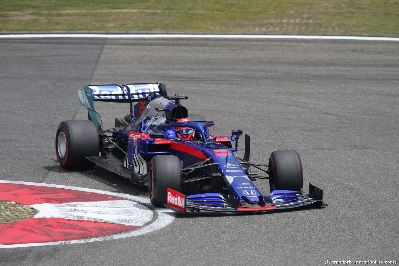 GP CINA, 13.04.2019- Free practice 3, Daniil Kvyat (RUS) Scuderia Toro Rosso STR14
