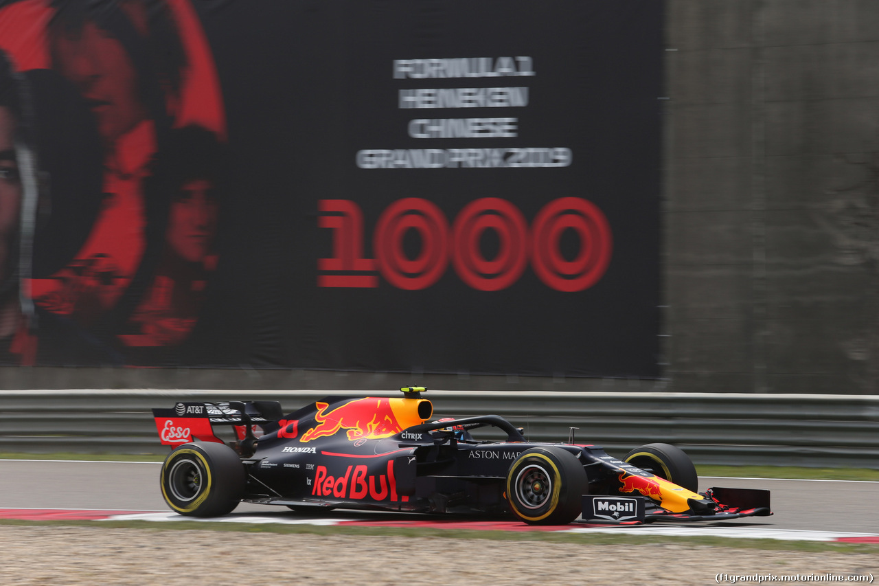 GP CINA, 13.04.2019- Free practice 3, Pierre Gasly (FRA) Redbull Racing RB15