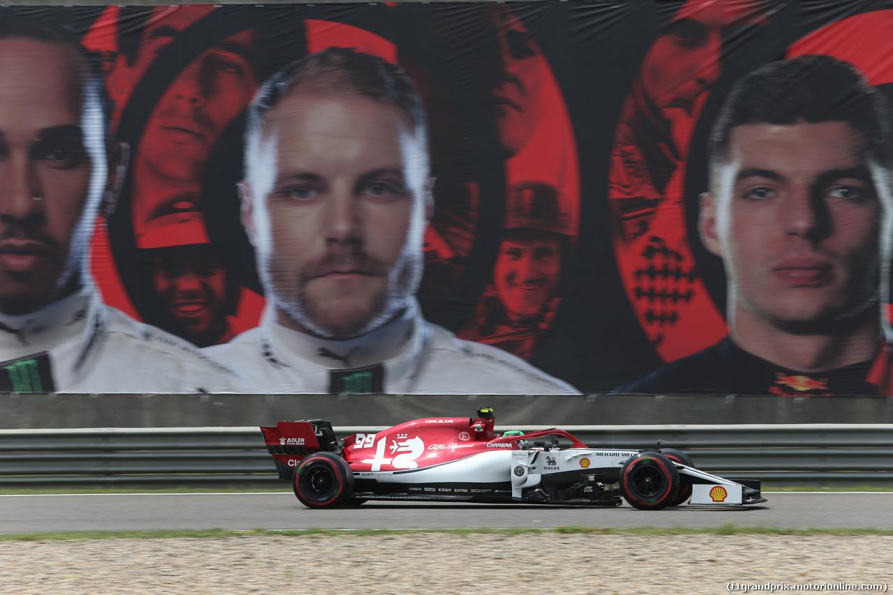 GP CINA, 13.04.2019- Free practice 3, Antonio Giovinazzi (ITA) Alfa Romeo Racing C38