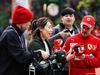GP CINA, 12.04.2019- Sebastian Vettel (GER) Ferrari SF90 with fans