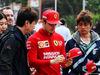 GP CINA, 12.04.2019- Charles Leclerc (MON) Ferrari SF90 with fans