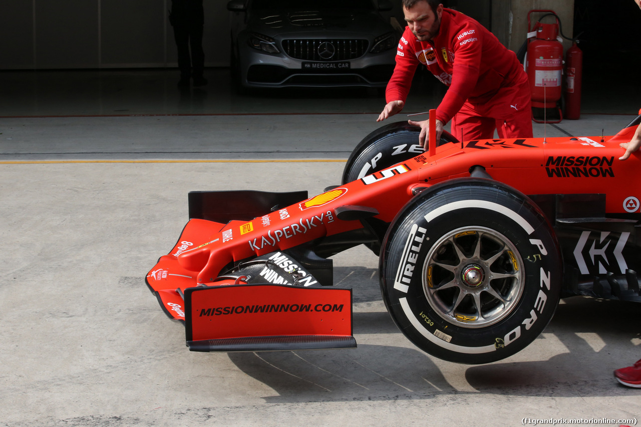 GP CINA, 11.04.2019- Ferrari SF90 OZ Wheels