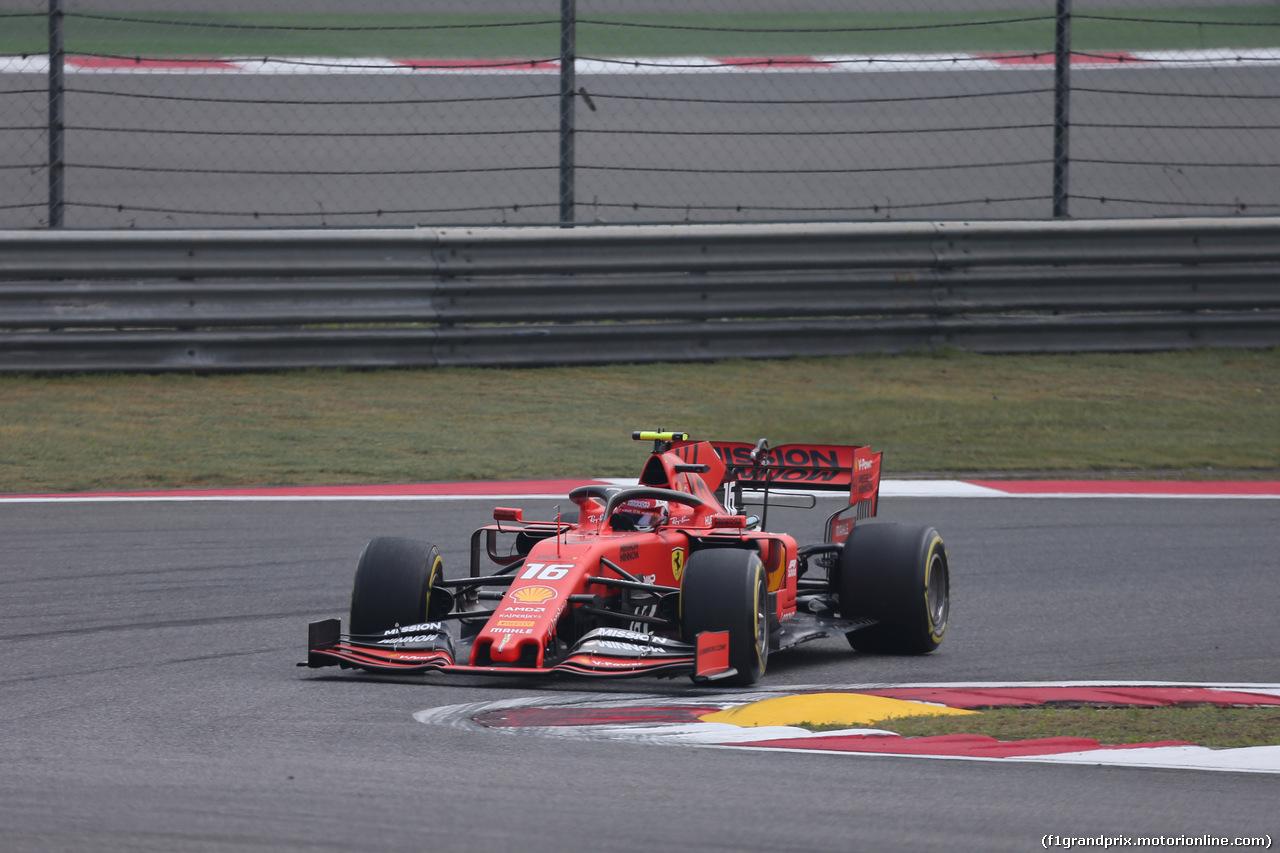 GP CINA, 12.04.2019- Prove Libere 1, Charles Leclerc (MON) Ferrari SF90
