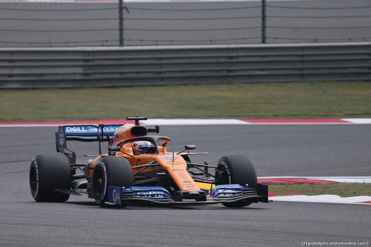 GP CINA, 12.04.2019- Prove Libere 1, Carlos Sainz Jr (ESP) Mclaren F1 Team MCL34