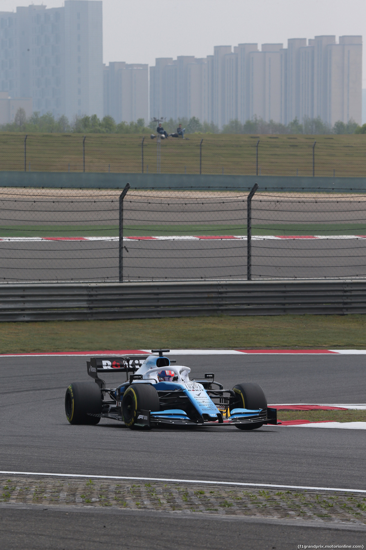 GP CINA, 12.04.2019- Prove Libere 1, George Russell (GBR) Williams F1 FW42