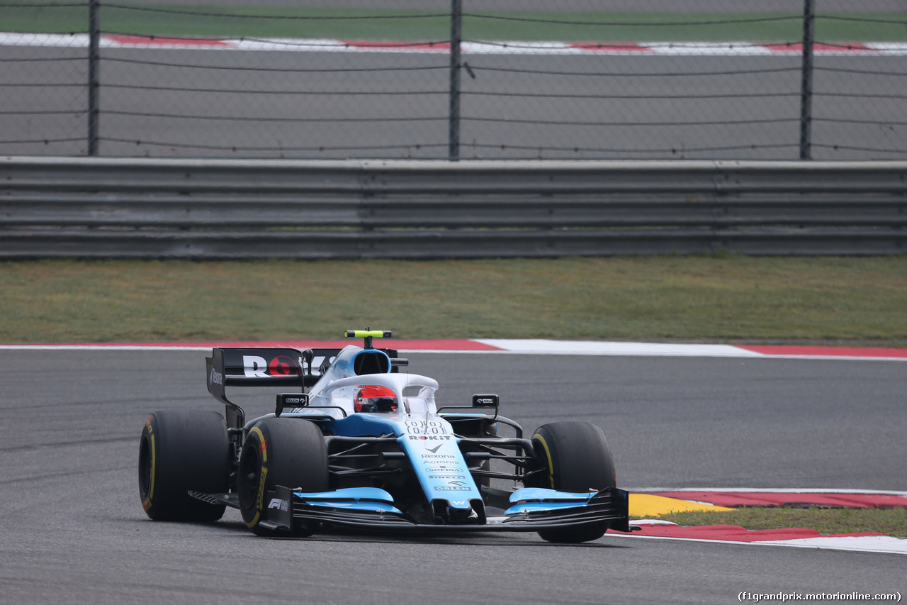 GP CINA, 12.04.2019- Prove Libere 1, Robert Kubica (POL) Williams F1 FW42