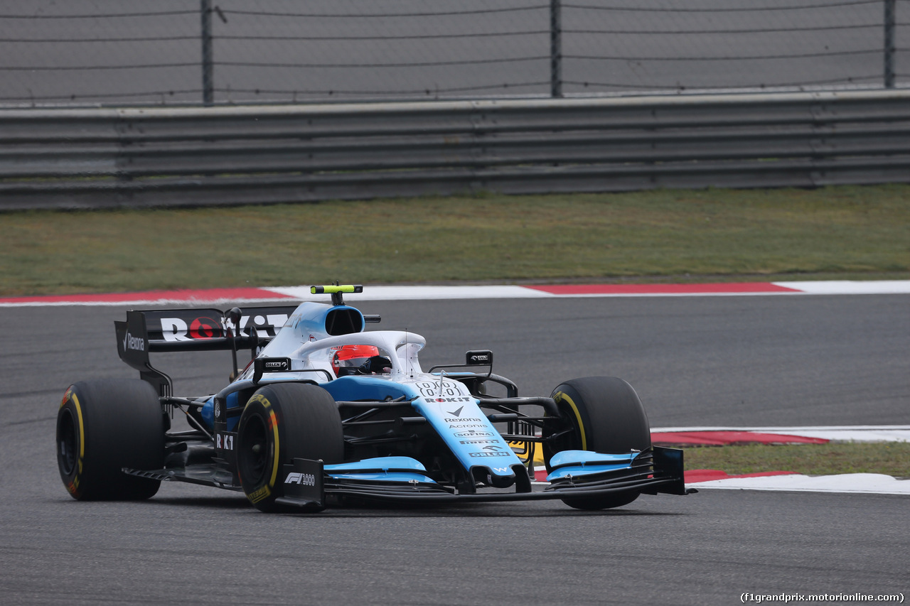 GP CINA, 12.04.2019- Prove Libere 1, Robert Kubica (POL) Williams F1 FW42
