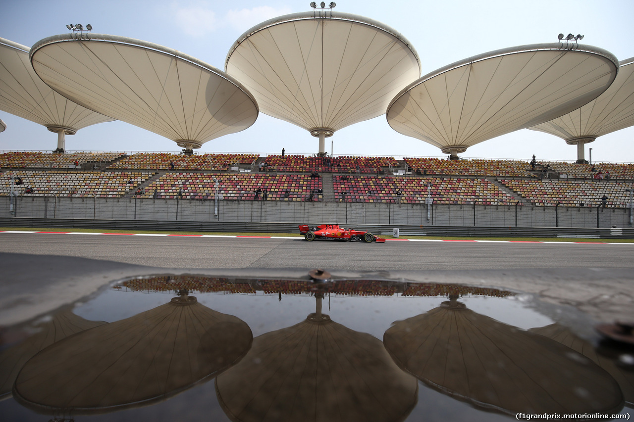 GP CINA, 12.04.2019- Prove Libere 1, Sebastian Vettel (GER) Ferrari SF90