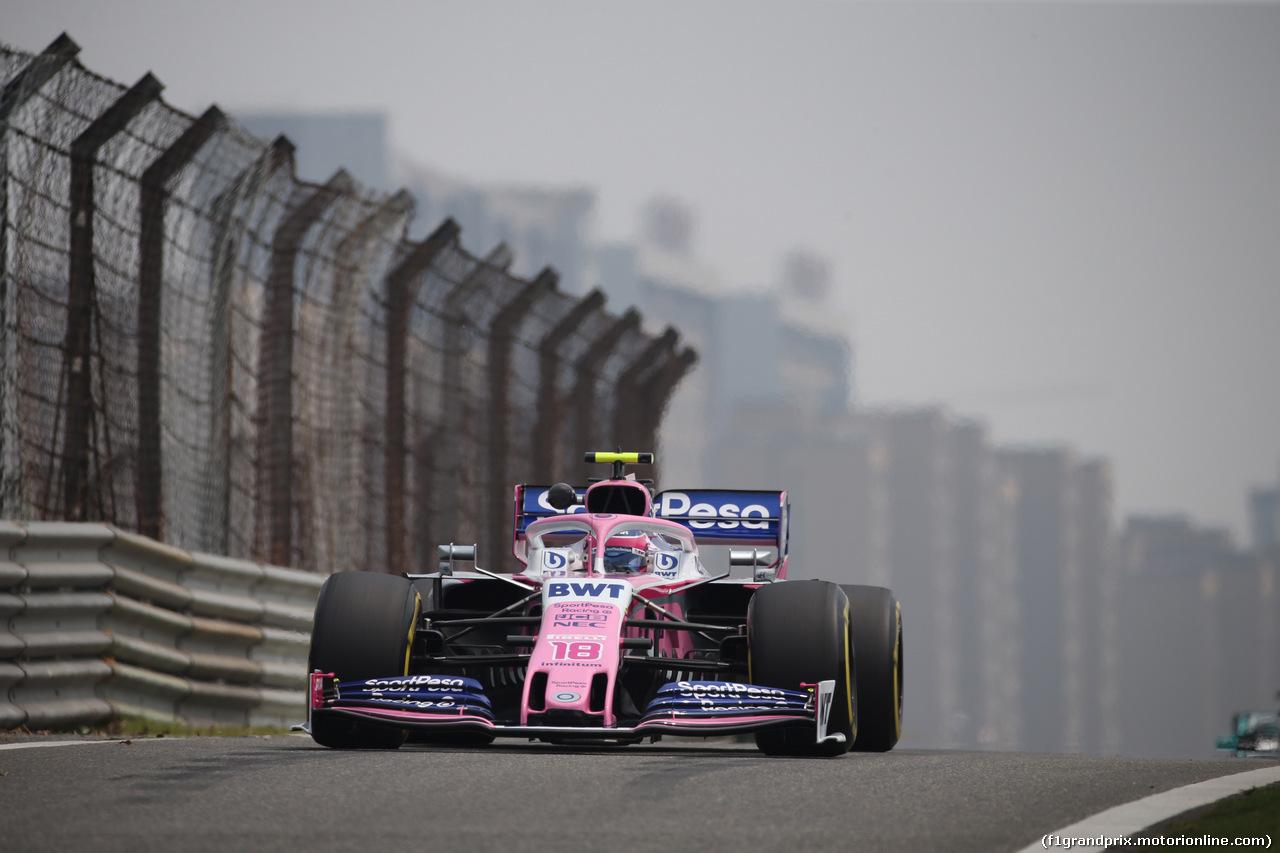 GP CINA, 12.04.2019- Prove Libere 1, Lance Stroll (CDN) Racing Point F1 RP19