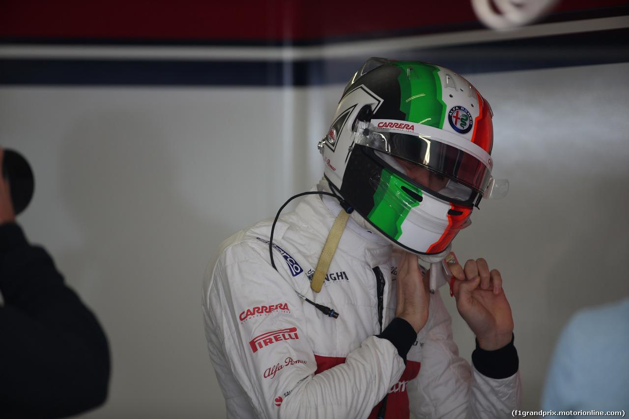 GP CINA, 12.04.2019- Prove Libere 1, Antonio Giovinazzi (ITA) Alfa Romeo Racing C38