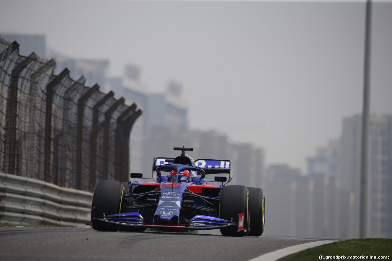 GP CINA, 12.04.2019- Prove Libere 1, Daniil Kvyat (RUS) Scuderia Toro Rosso STR14