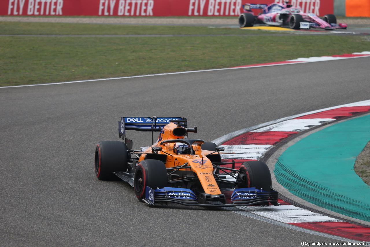 GP CINA, 12.04.2019- Prove Libere 2, Carlos Sainz Jr (ESP) Mclaren F1 Team MCL34