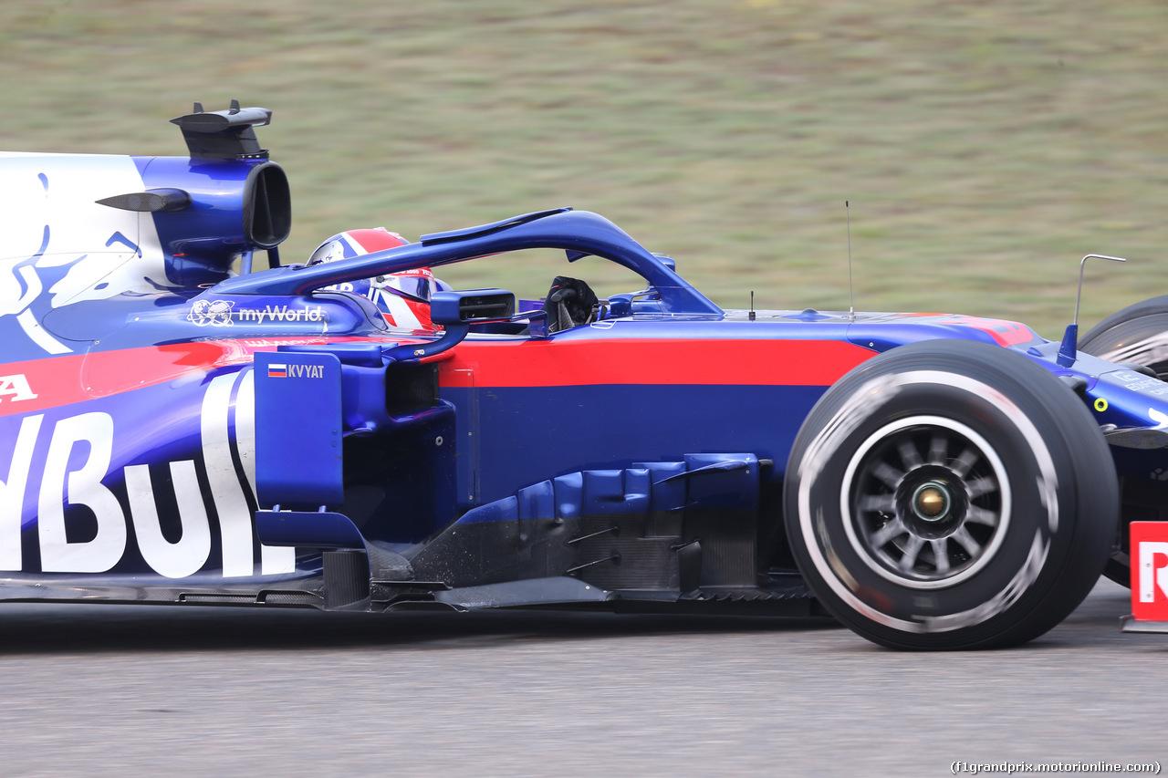 GP CINA, 12.04.2019- Prove Libere 2, Daniil Kvyat (RUS) Scuderia Toro Rosso STR14