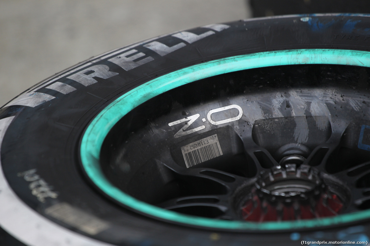 GP CINA, 12.04.2019- OZ Wheels e Pirelli Tyre