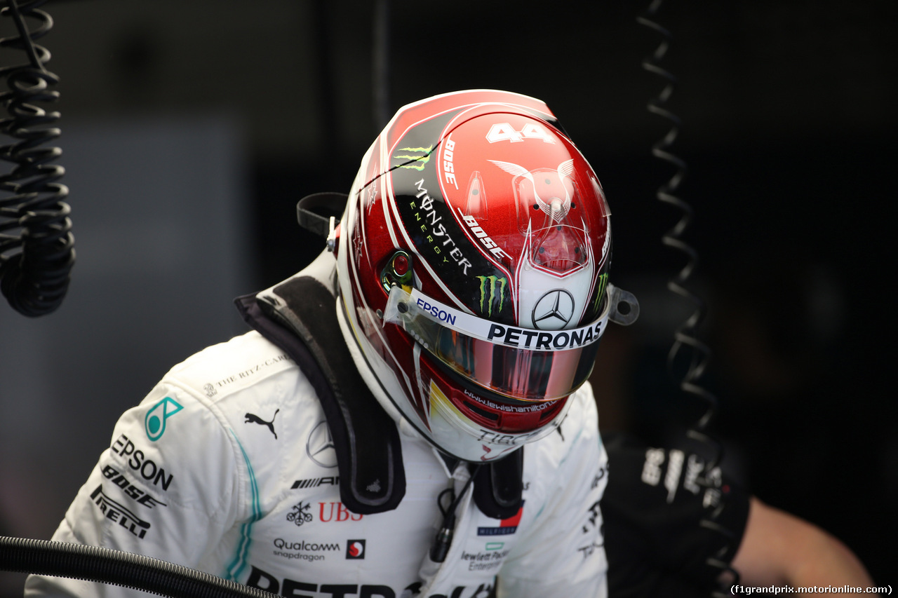 GP CINA, 12.04.2019- Prove Libere 2, Lewis Hamilton (GBR) Mercedes AMG F1 W10 EQ Power