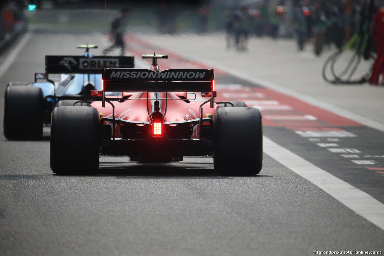 GP CINA, 12.04.2019- Prove Libere 2, Charles Leclerc (MON) Ferrari SF90