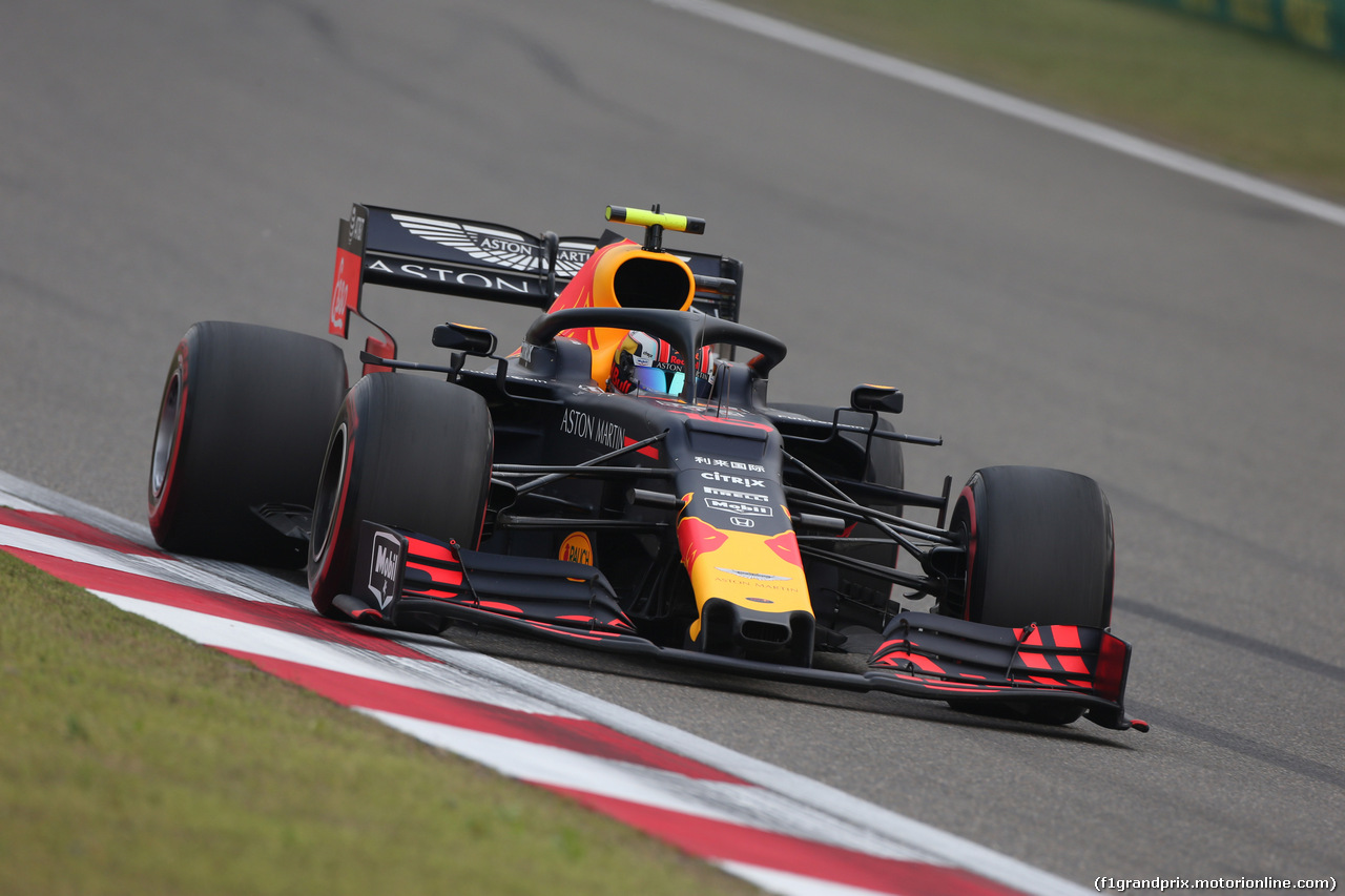 GP CINA, 12.04.2019- Prove Libere 2, Pierre Gasly (FRA) Redbull Racing RB15