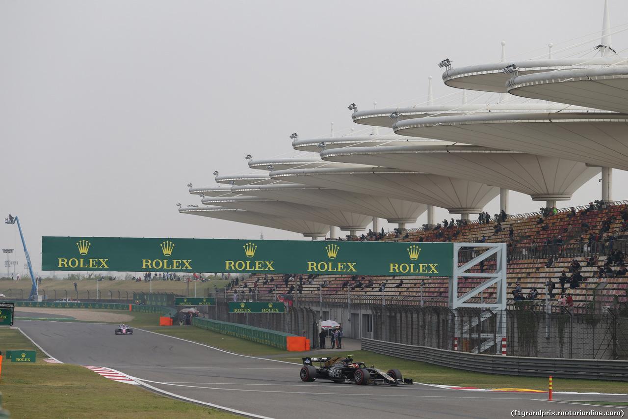 GP CINA, 12.04.2019- Prove Libere 2, Kevin Magnussen (DEN) Haas F1 Team VF-19
