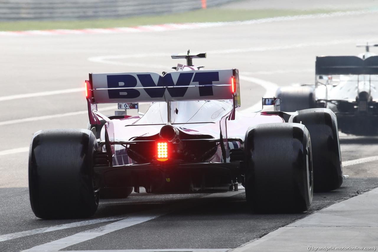 GP CINA, 12.04.2019- Prove Libere 2, Lance Stroll (CDN) Racing Point F1 RP19