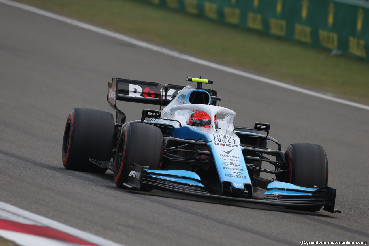 GP CINA, 12.04.2019- Prove Libere 2, Robert Kubica (POL) Williams F1 FW42