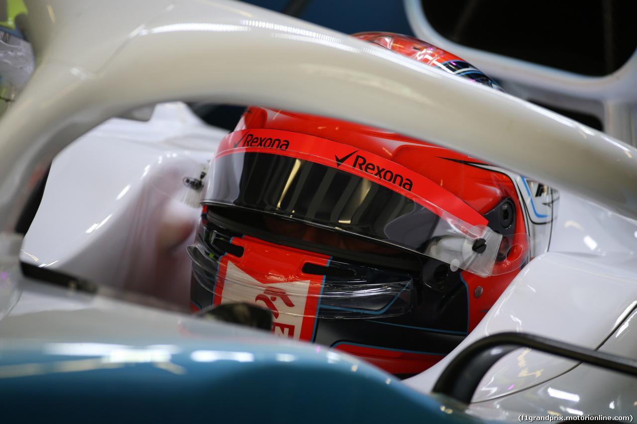 GP CINA, 12.04.2019- Prove Libere 2, Robert Kubica (POL) Williams F1 FW42
