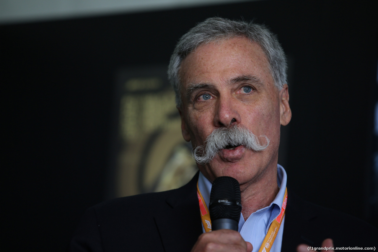 GP CINA, 12.04.2019- Official 1000th F1 Gp Poster presentation: Chase Carey (US), Liberty Media