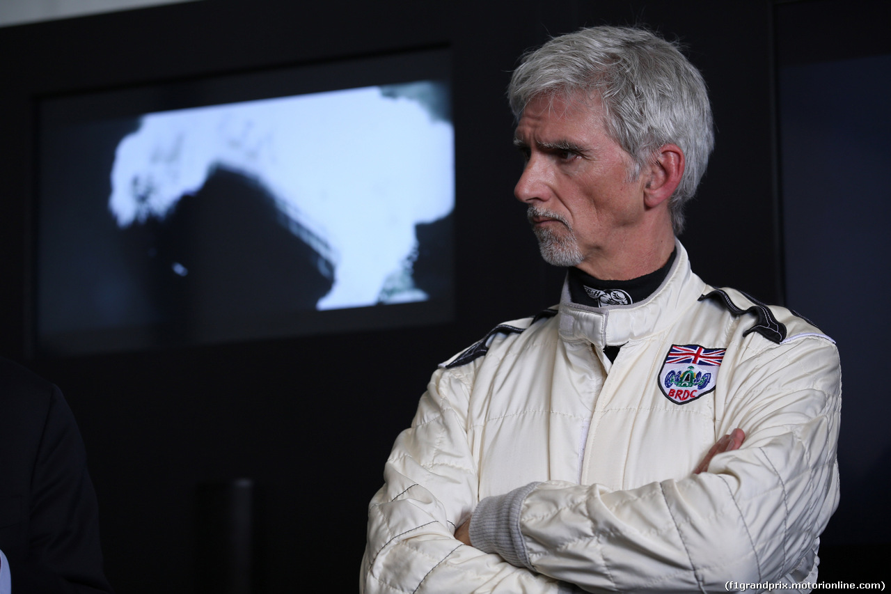 GP CINA, 12.04.2019- Official 1000th F1 Gp Poster presentation:  Damon Hill (GBR) 1996 F1 World Champion
