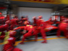 GP CINA, 11.04.2019- Ferrari tests Pit Stop