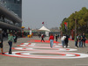 GP CINA, 12.04.2019- Big 1000th F1 GP Logo in the paddock