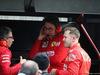 GP CINA, 12.04.2019- Free Practice 2, Sebastian Vettel (GER) Ferrari SF90 with Laurent Mekies (FRA) Ferrari Sporting Director e Mattia Binotto (ITA) Ferrari Team Principal