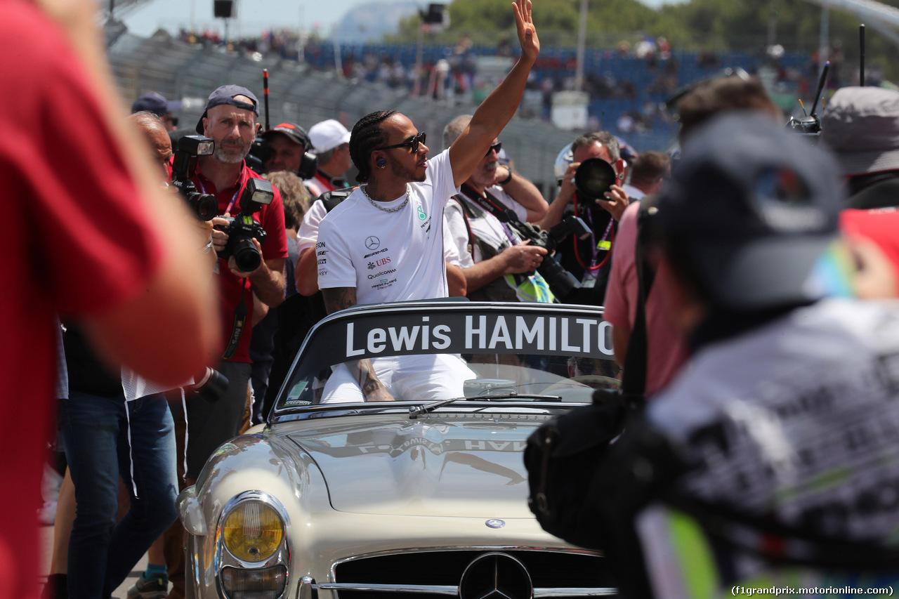 GP FRANCIA, 23.06.2019 - Lewis Hamilton (GBR) Mercedes AMG F1 W10