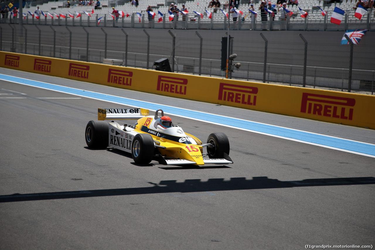GP FRANCIA, 23.06.2019 - Jean-Pierre Jabouille (FRA) Renault R22, 1979