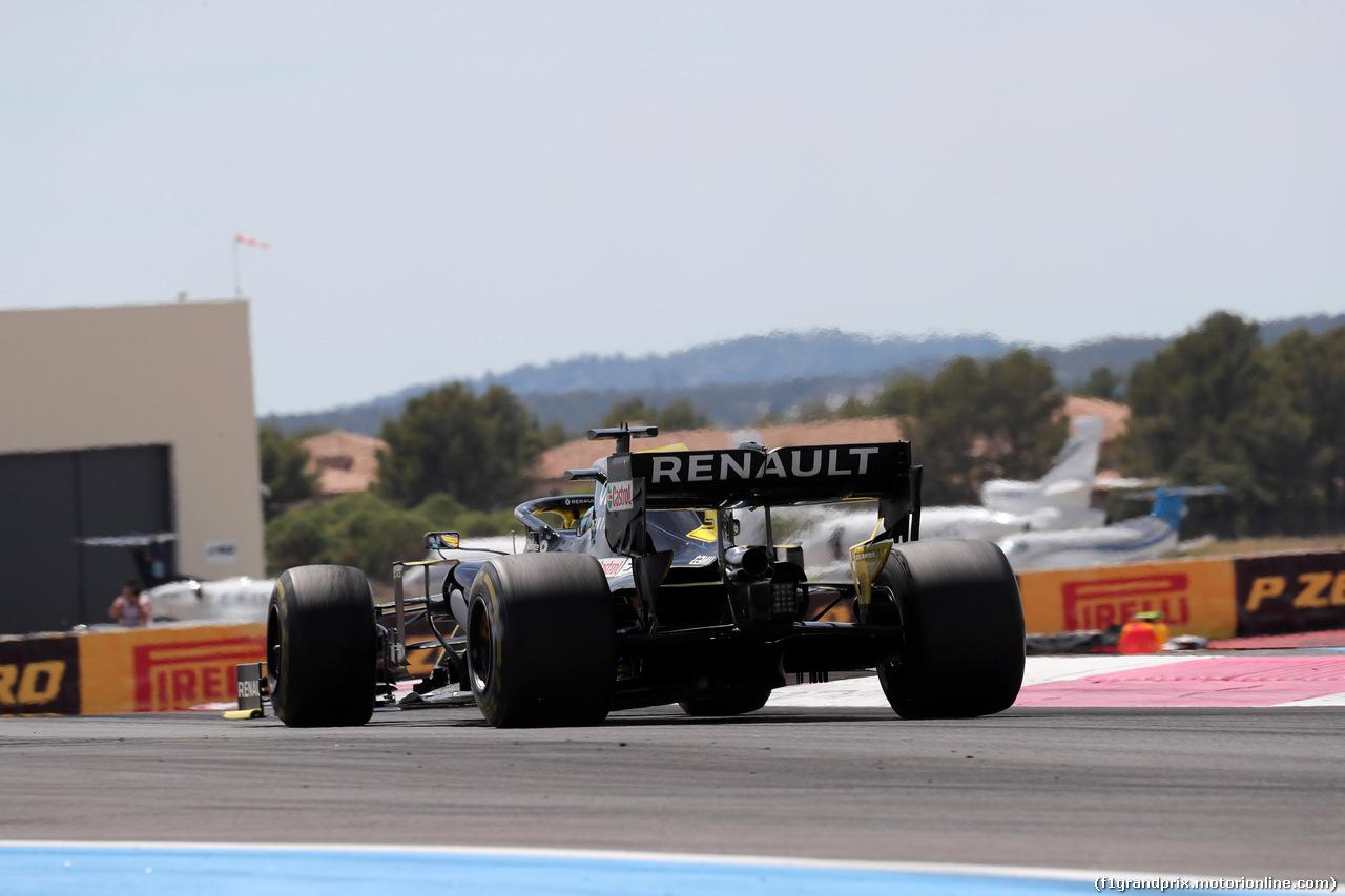 GP FRANCIA, 23.06.2019 - Gara, Daniel Ricciardo (AUS) Renault Sport F1 Team RS19