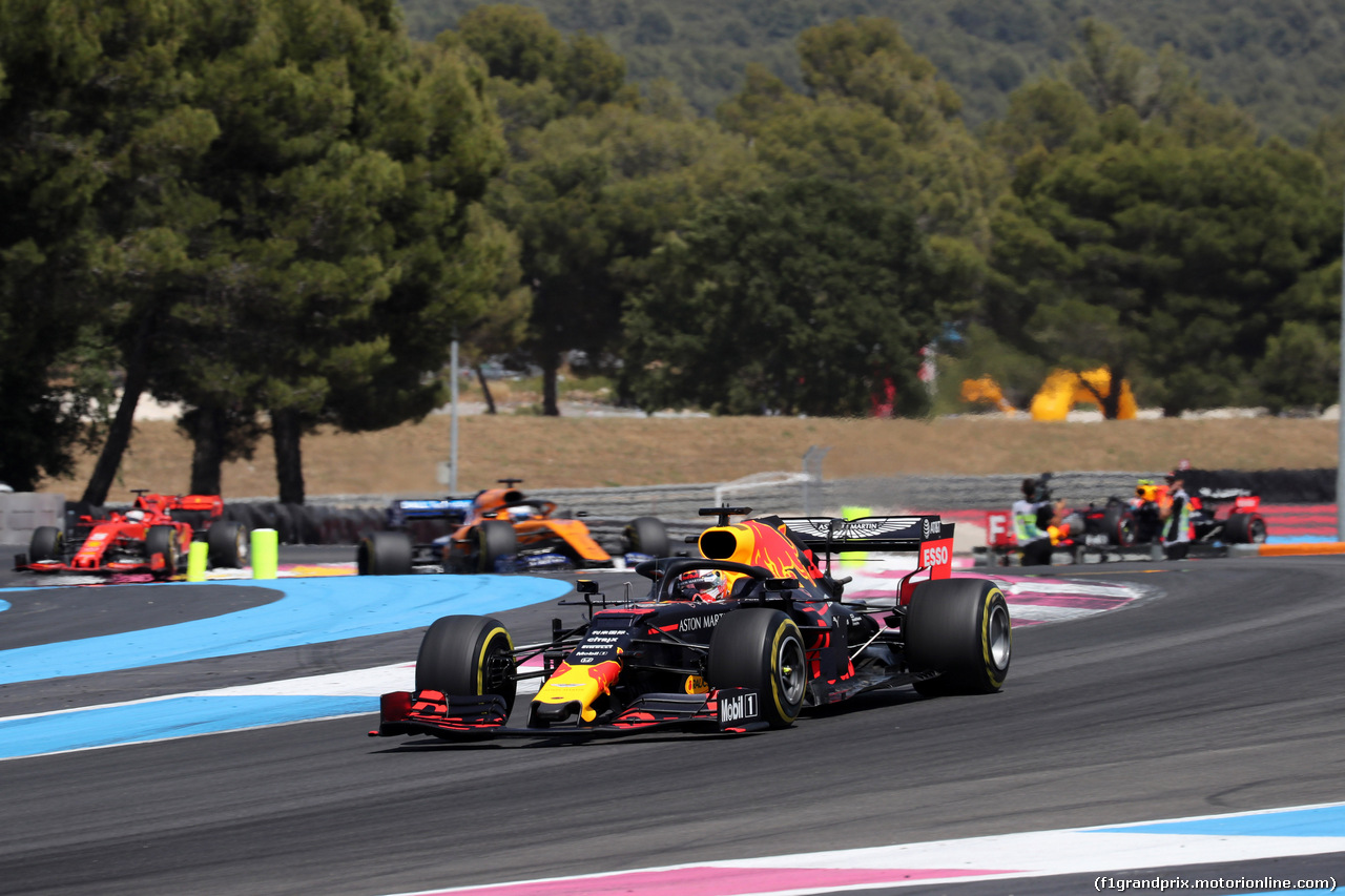 GP FRANCIA, 23.06.2019 - Gara, Max Verstappen (NED) Red Bull Racing RB15