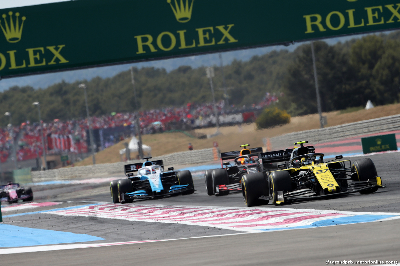 GP FRANCIA, 23.06.2019 - Gara, Nico Hulkenberg (GER) Renault Sport F1 Team RS19