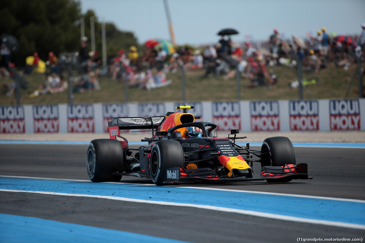 GP FRANCIA, 23.06.2019 - Gara, Pierre Gasly (FRA) Red Bull Racing RB15