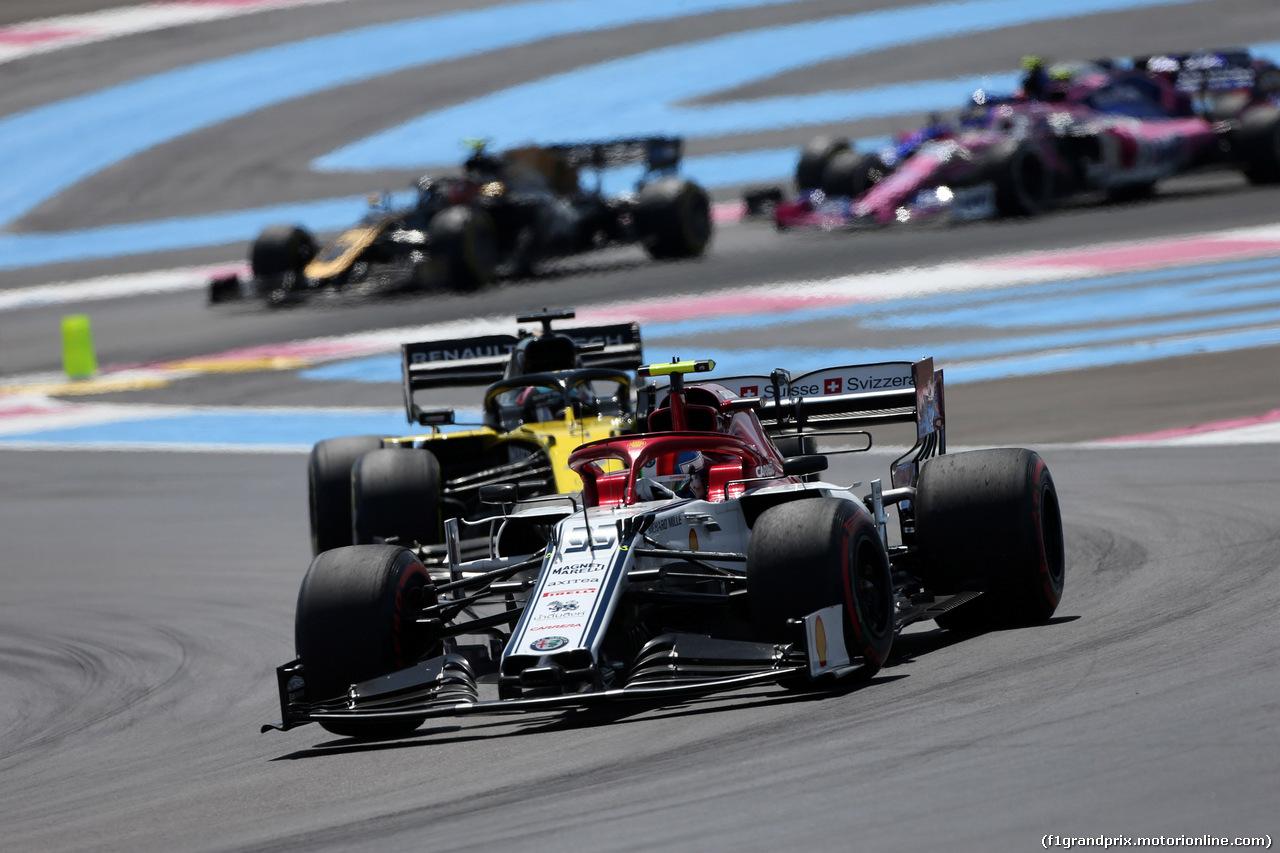 GP FRANCIA, 23.06.2019 - Gara, Antonio Giovinazzi (ITA) Alfa Romeo Racing C38