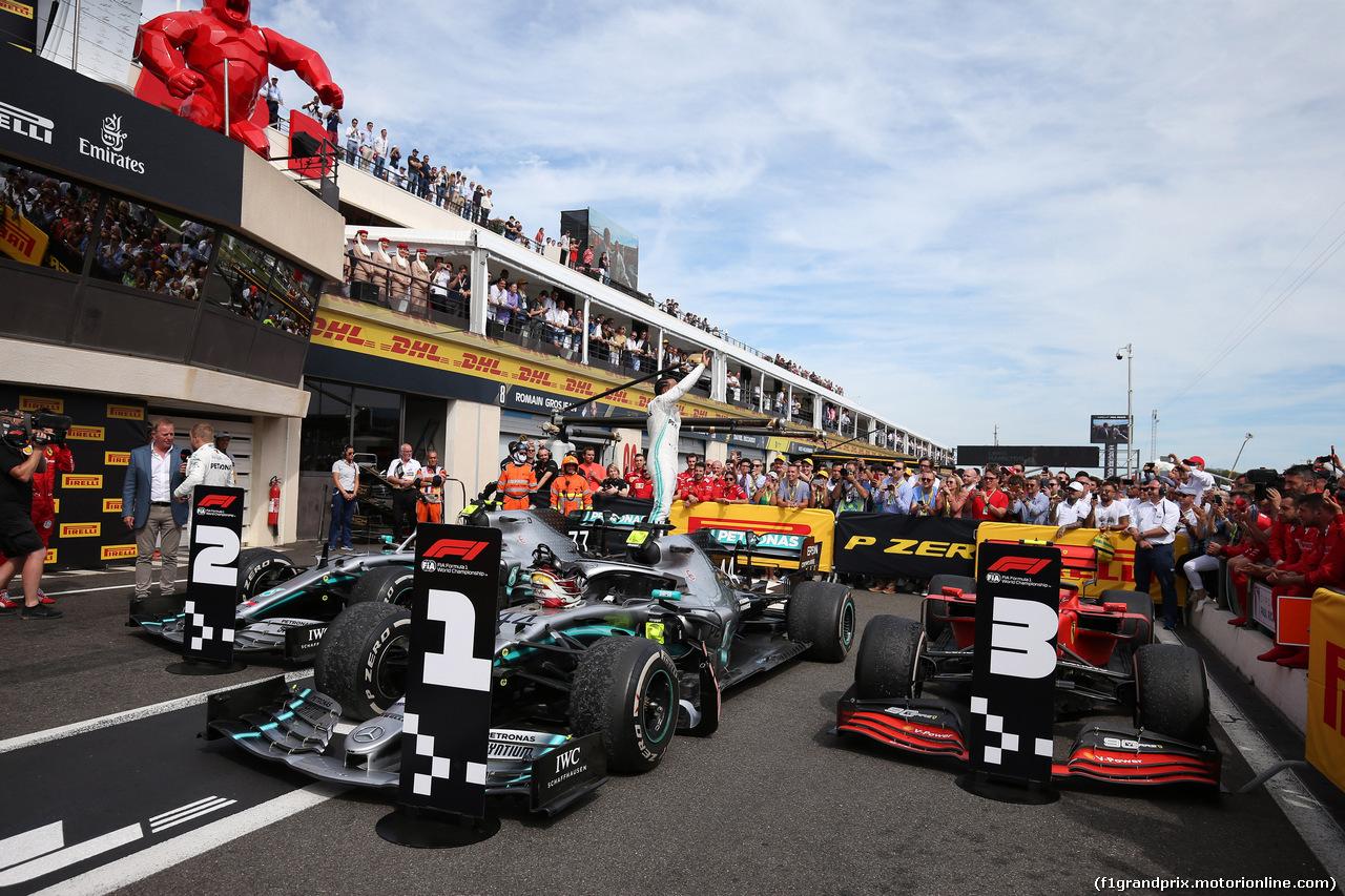 GP FRANCIA, 23.06.2019 - Gara, Lewis Hamilton (GBR) Mercedes AMG F1 W10 vincitore