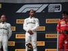 GP FRANCIA, 23.06.2019 - Gara, 1st place Lewis Hamilton (GBR) Mercedes AMG F1 W10, 2nd place Valtteri Bottas (FIN) Mercedes AMG F1 W010 e 3rd place Charles Leclerc (MON) Ferrari SF90