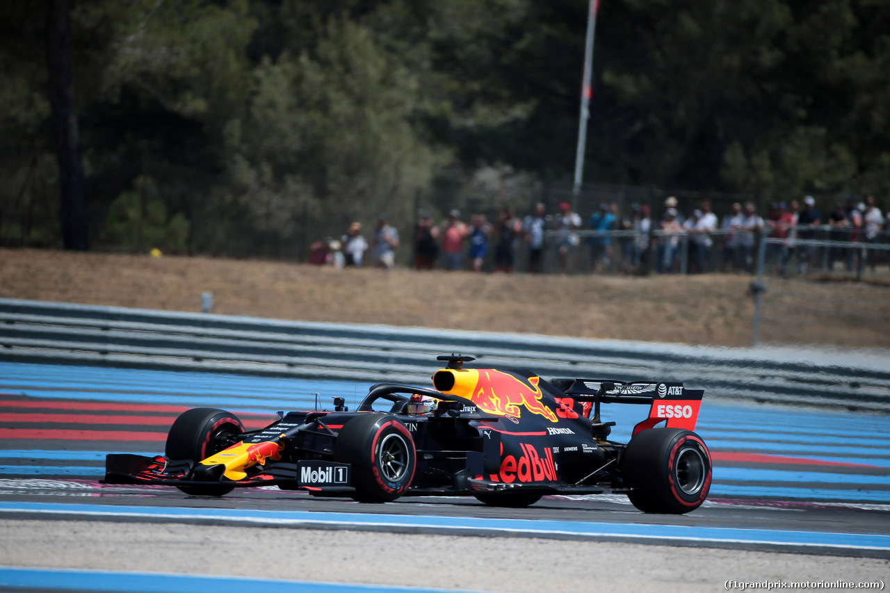 GP FRANCIA, 22.06.2019 - Prove Libere 3, Max Verstappen (NED) Red Bull Racing RB15