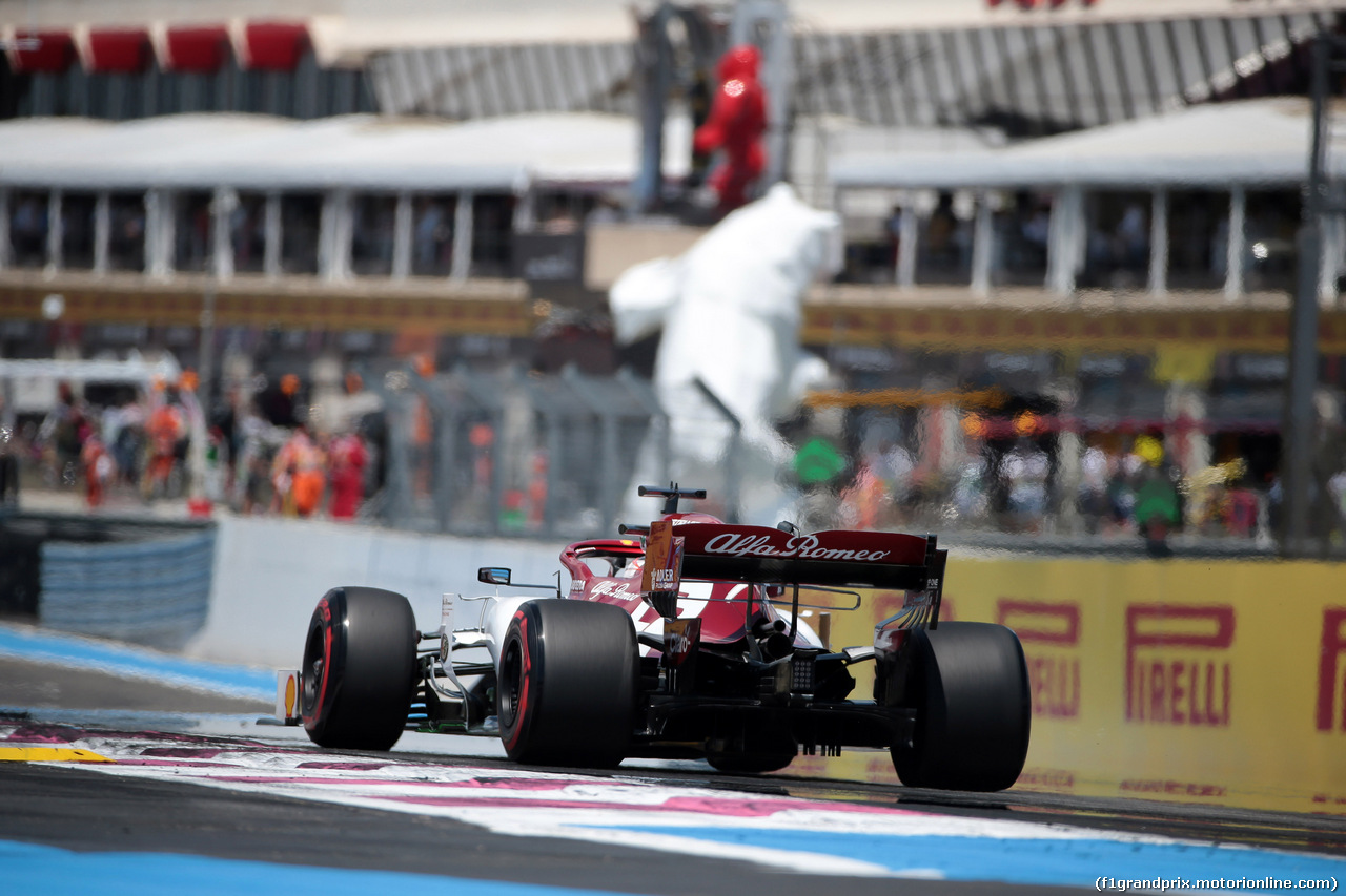 GP FRANCIA, 22.06.2019 - Prove Libere 3, Kimi Raikkonen (FIN) Alfa Romeo Racing C38